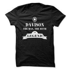 DAVISON, the man, the myth, the legend - #gift ideas #gift table. HURRY => https://www.sunfrog.com/Names/DAVISON-the-man-the-myth-the-legend-vgjishypfj.html?68278