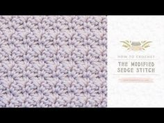 Hey there! How about another easy tutorial that will teach you how to crochet modified sedge stitch? Learn how to crochet a blanket (baby blanket), hat, scarf, the border and just an amazing DIY te…