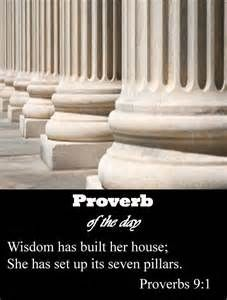 Proverbs 9 and 1