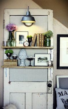 shelves in kitchen windows????