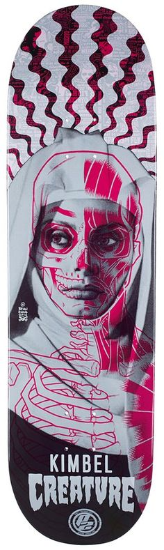 Creature Kimbel Anatomy P2 Skateboard Deck