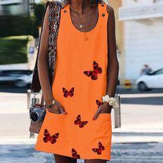 Dámské krátké šaty Classy - oranžová - Pošta Zdarma