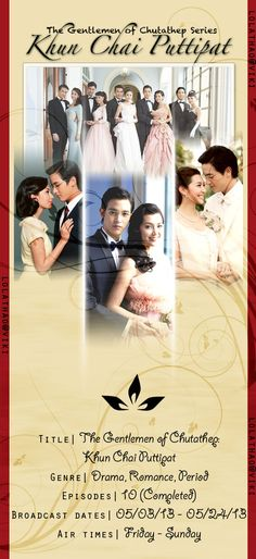 Khun Chai Puttipat [Completed] - Watch Full Episodes Free - Thailand - TV Shows - Viki