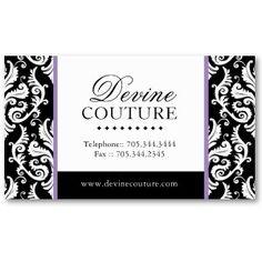 Fashion Designer Business Cards Samples Arts Arts