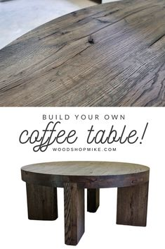 If you've been looking for a new modern coffee table, then check out this build from Woodshop Mike! With clean and simple lines, it's the perfect choice to modernize your living space. Watch the build video, then grab the plans to get started making your own! #woodworking #woodworkingplans #coffeetable #furniture #diyfurniture #handmade #handmadecoffeetable #oak #modernfurniture #moderncoffeetable #rusticcoffeetable #rusticfurniture #modernrustic #wood #qualityfurniture #livingroom