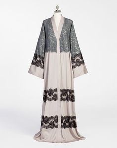ABAYA WITH LACE INSET - Long dresses - Dolce&Gabbana - Winter 2016
