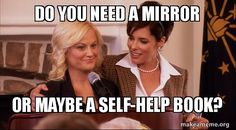 Parks and Rec - Leslie Knope and Lindsay Carlisle Shay.