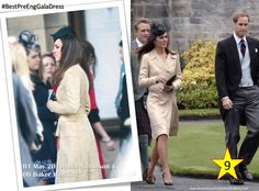 #BestPreEngGalaDress n. 09 When Kate attended Mel Nicholson and Oli Baker Wedding (May 2010).