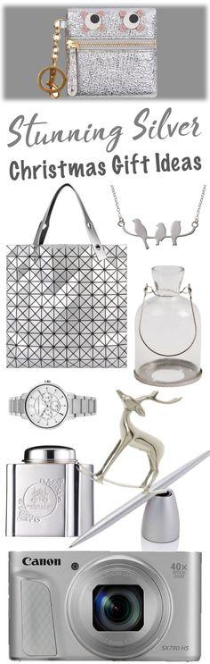 stunning silver christmas gift ideas mood board
