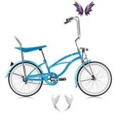 "20"" Micargi Low Rider F4 Chopper Bike<br> Womens Bike Helmet, Chopper Bike, Low Rider"
