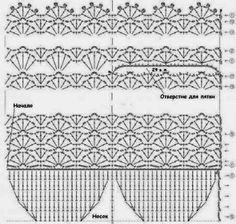 Modèle vu sur Crochet Passion   Toutes les explications ICI