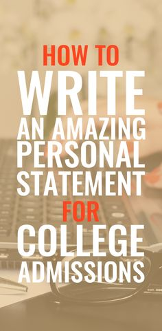 Personal statements for your college applications are the one chance you get to show that youre not just a number! Learn how to stand out! Essay Writer, Essay Writing Tips, Writing A Book, College Essay Tips, College Application Essay, Buy Essay Online, Going Back To College, Personal Statements