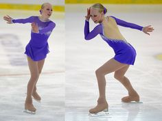 Bradie Tennell of the United States skates during the junior ladies short program of the ISU Junior Grand Prix of figure skating on September 10, 2015 in Linz, Austria