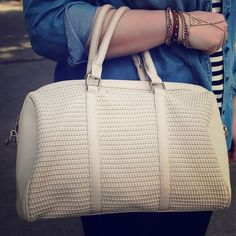 Handbags - Cream-colored Bag
