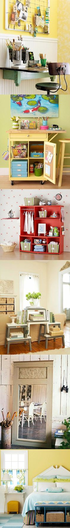 Como reciclar muebles /  http://www.tendenciasydecoracion.com/