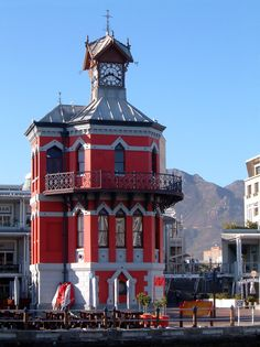 Victoria & Alfred Waterfront Clock tower in Cape Town, South Africa www.superiorsalesandrentals.co.za