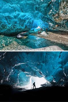 Take a tour of the crystal caves! Don't miss the top 10 things to do in Iceland…