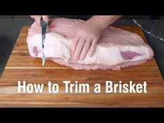 There are as many methods of cooking brisket as there are pitmasters. That confusion can make it hard to learn how to cook it. Here, we break down some of the methods so you can learn the basics of brisketry. How To Cook Brisket, Beef Brisket Recipes, Bbq Brisket, Smoked Beef Brisket, Traeger Recipes, Smoked Meat Recipes, Smoked Ribs, Grilling Recipes, Cooking Brisket