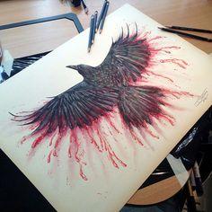Fascinantes dibujos hiperrealistas hechos con lápices de colores por Dino Tomic