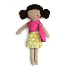 Pregnant Doll in Pink