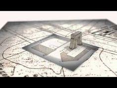 Reconstrucción virtual de la Torre-Puerta de Bejanque (Guadalajara) hacia 1350 - YouTube