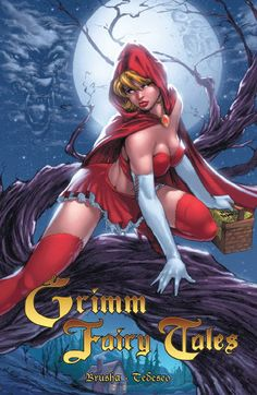 Grimm Fairy Tales Trade Paperback Vol 1 Limited Edition Covered #GrimmFairyTales #GFT #Zenescope