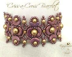 Beading pattern Amounet Bracelet in English di EnvyBeadwork