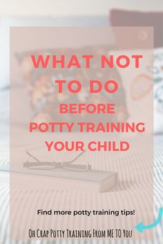 potty training tips | potty training mistakes | help with potty training | how to start potty training | when to potty train
