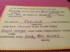 Best. RSVP Card. Ever.