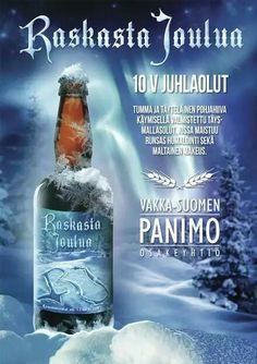 Raskasta Joulua ale by Vakka-Suomen Panimo, Finland. 6/10 pts