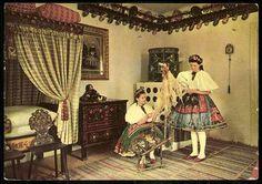 Decs; Magyar szoba   Képeslapok   Hungaricana Valance Curtains, Folk, 1, Hungary, Romania, Clothes, Country, Home Decor, Europe
