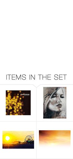 """Golden sun, warm my skin"" by thekj ❤ liked on Polyvore featuring art"