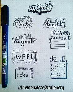 Word doodles