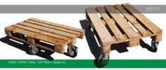 Reclaimed wood pallet tables 120*80cm