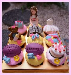 Girls cup cake Cakes creation by ching pranata - Jakarta ,Indonesia