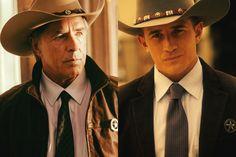 Like father, like son; Don left and Jesse Johnson.
