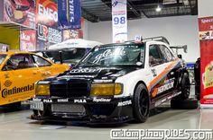 Atoy Customs 1JZ-Powered Mercedes-Benz 190E Drift Car Custom Pinoy Rides Car Photography Manila Philippines pic1