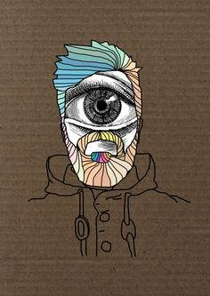 Faces by KNOX , via Behance