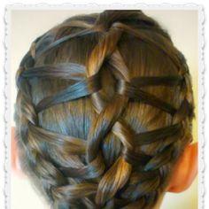DNA Braid Hairstyle Tutorial