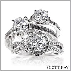 Which one of theses rings would you love to wear everyday?  http://www.smythjewelers.com/engagement-wedding.html