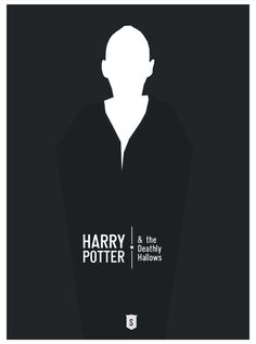 "Deathly Hallows - ""Harry Postters"" by Hexagonall , via Behance"
