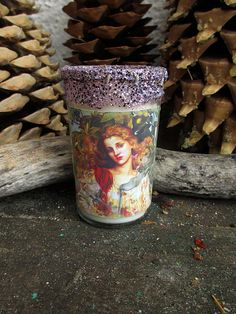 Rita's Palo Santo Hand Poured Signature Scented 2 Day Hoodoo Ritual Candle - Cleansing, Healing, Blessing, Creativity, Good Fortune