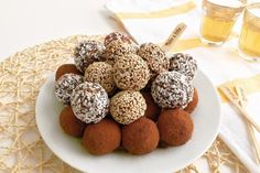 Healthy Date Truffles - No Cook   Healthy Ideas for Kids