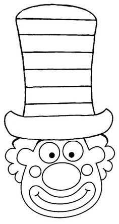 Clown Crafts, Carnival Crafts, Carnival Themes, Circus Art, Circus Theme, Mardi Gras, Preschool Circus, Diy For Kids, Crafts For Kids
