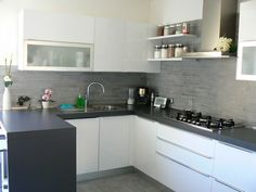Colore Parete Per Cucina Bianca : Mostra/nascondi la visualizzazione a mosaico