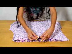 Как сшить блузку на лето без выкройки быстро | How to sew a blouse - YouTube