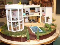 A California contemporary house from the Museum of Miniature Houses. https://flic.kr/p/6bWrLC | DSCF2333