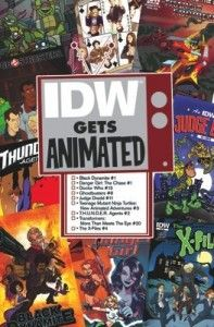 IDW Gets Animated collage