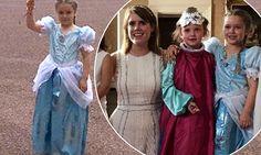 The Royal Beckhambaums Harper Beckham celebrates her birthday at Buckingham Palace