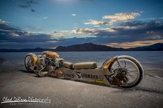 Twin Engine Yamaha Land Speed Bike ~ Return of the Cafe Racers